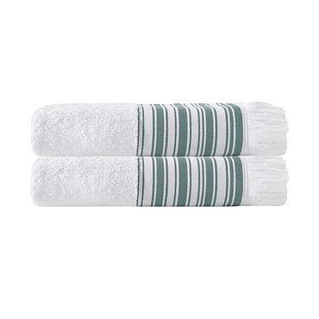 Enchante Home Monaco Set of 2 Turkish Cotton Bath Towels