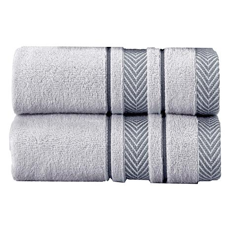 Enchasoft Turkish Cotton Bath Sheet 2 Piece Set 8239849