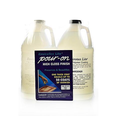 ENVIROTEX Lite Pour-On High Gloss Finish Kit - Gallon