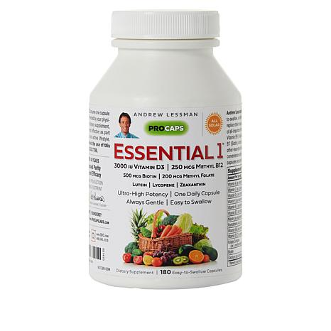 Essential-1 with Vitamin D3-3000 - 180 Capsules