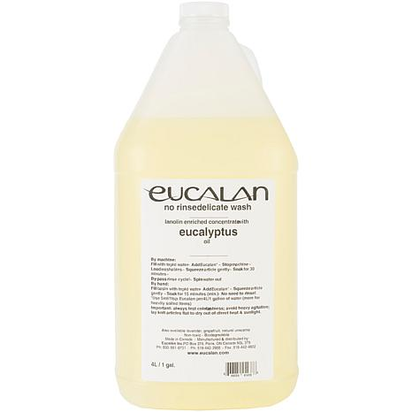 Eucalan Fine Fabric Wash 1 Gallon - Eucalyptus