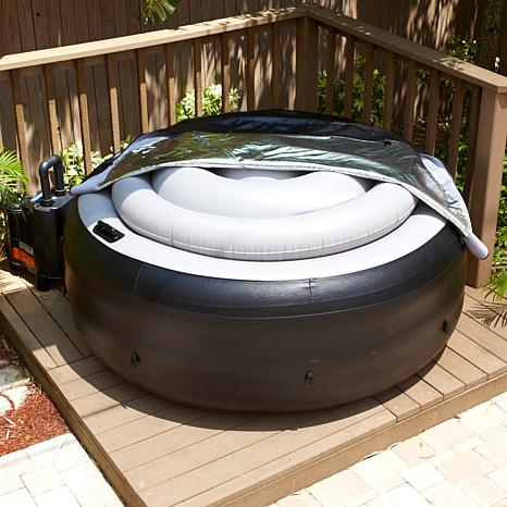 Portable Hot Tub With Cover 6744377 Hsn