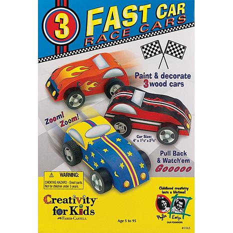Faber-Castell Creativity for Kids Race-Cars Kit