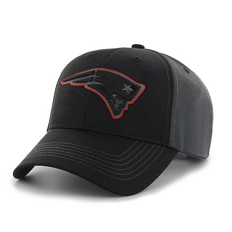 Fan Favorite New England Patriots NFL Blackball Adjustable Hat