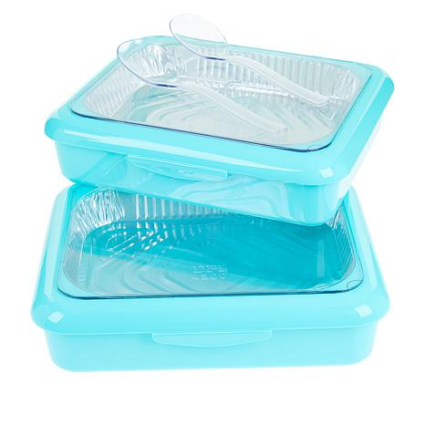 Fancy Panz Set of 2 Serving Trays