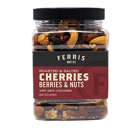 Ferris (3) 1 lb. Jars Berry & Nut Mix with Choc. Chunks