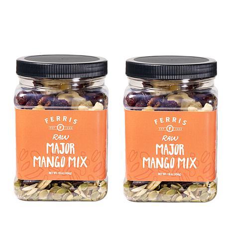 Ferris Company Major Mango 2-pack Raw Nut Mix