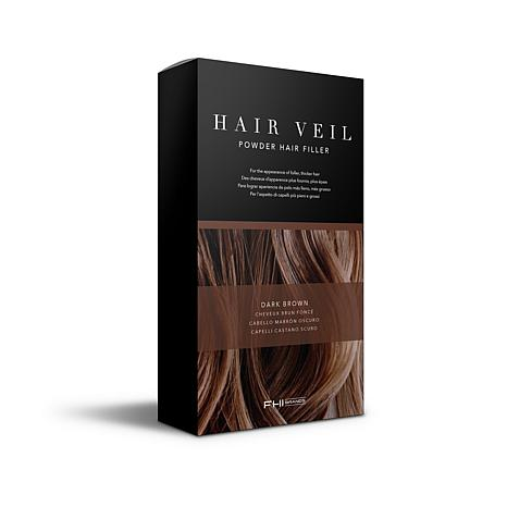 FHI Brands Hair Veil Powder Hair Filler - Dark Brown