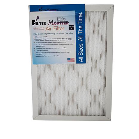 "Filter-Monster Elite 12"" x 24"" MERV 8 Filter 4pk"
