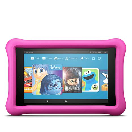 """Fire HD 8"""" Kids Edition 32GB Tablet w/Kid-Proof Case and Snoopy eBooks"""