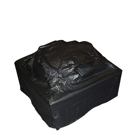 Outdoor Fire Pit Vinyl Cover Square 6580675 Hsn