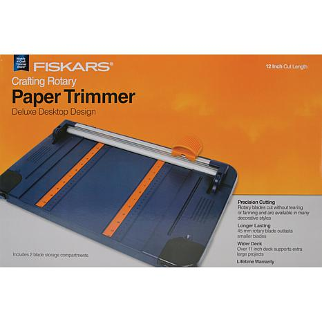 "Fiskars Rotary Paper Trimmer - 12"" Surface"