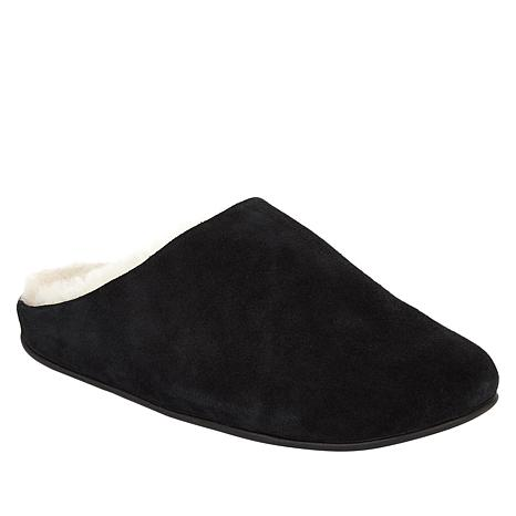 FitFlop Chrissie Suede Shearling Mule