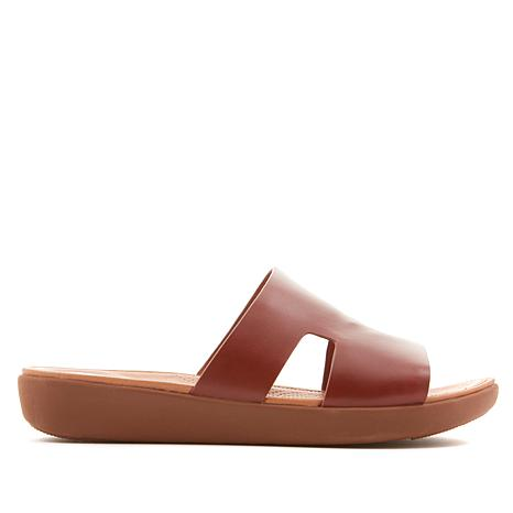 0ed3e353a FitFlop Delta Leather Slide Sandal - 8762641