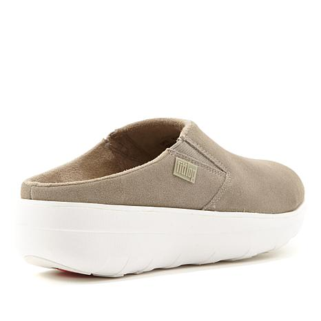 FitFlop Loaff Suede Clog - 8471055 | HSN