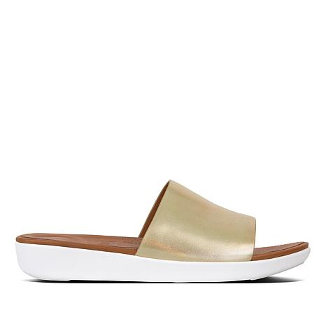 c2c960eb0f2 FitFlop Sola Leather Slide Sandal - 8628805