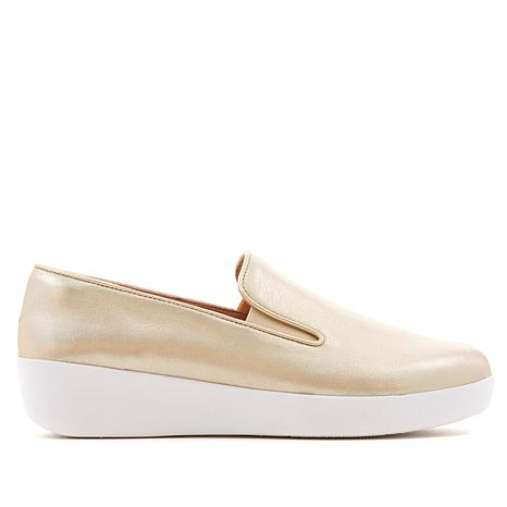 FitFlop Superskate Leather Slip-On Shoe