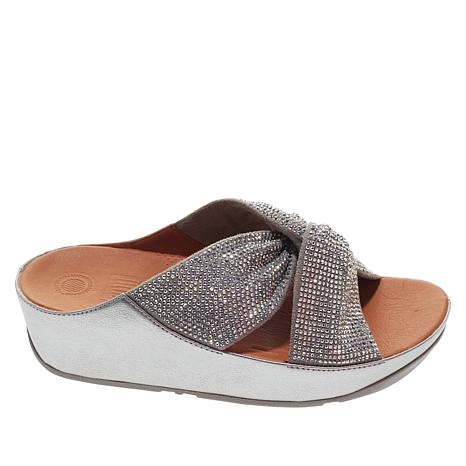 2cf0c037c15 FitFlop Twiss Crystal Slide Sandal - 8971072