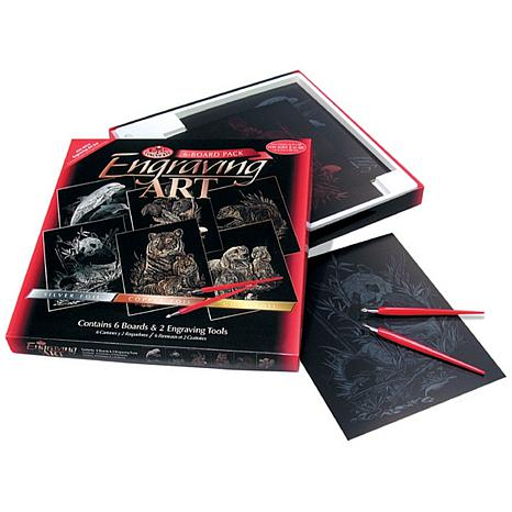 "Foil Engraving 8"" x 10"" Art Kit Value Pack"