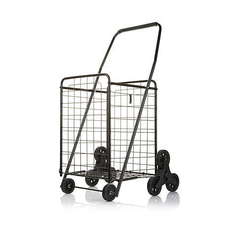 Folding Cart with Stair Climbing Wheel Technology
