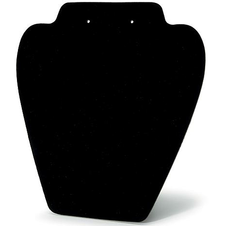 "Folding Jewelry Stand 7.25"" Black Velvet 6-pack"