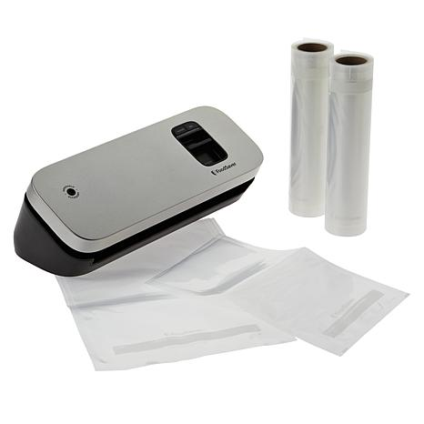 FoodSaver Compact Vacuum Sealing Unit with Assorted Bags