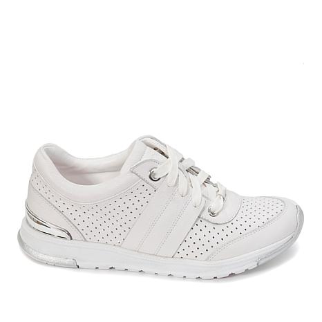 Foot Petals Bea Perforated Leather Sneaker  with Cushionology®