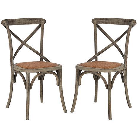 Franklin X-Back Side Chair (Set Of 2)