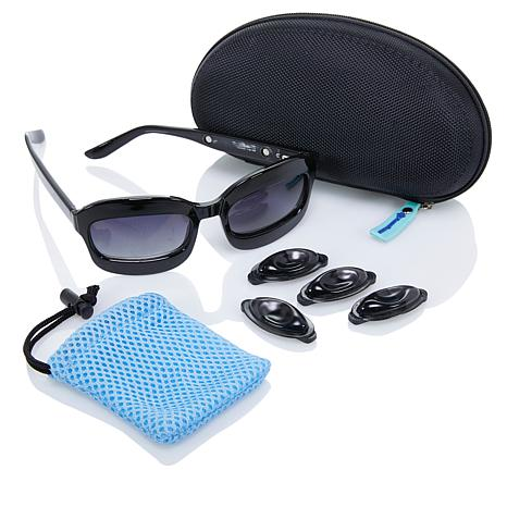 FreezeFrames Gel Pad Sunglasses with Case