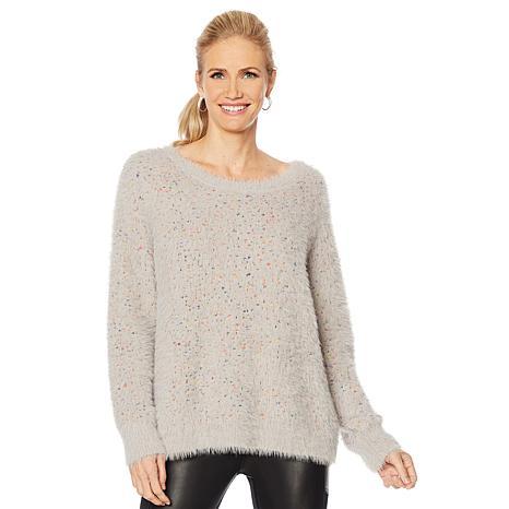 G by Giuliana Confetti Knit Multicolor Pullover Sweater