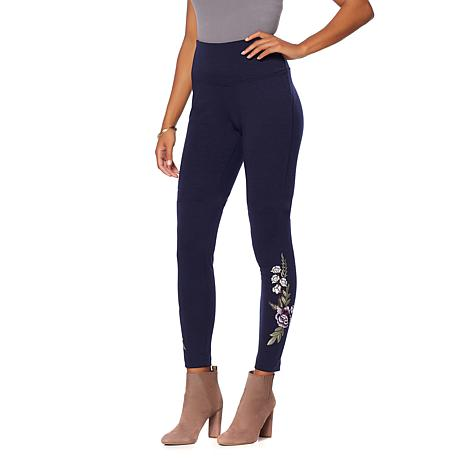 G by Giuliana Embroidered Legging