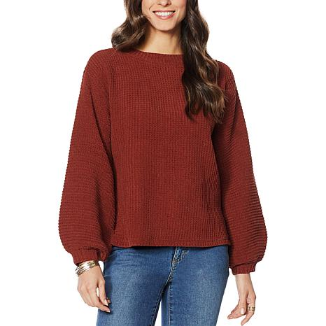G by Giuliana Matte Chenille Sweater