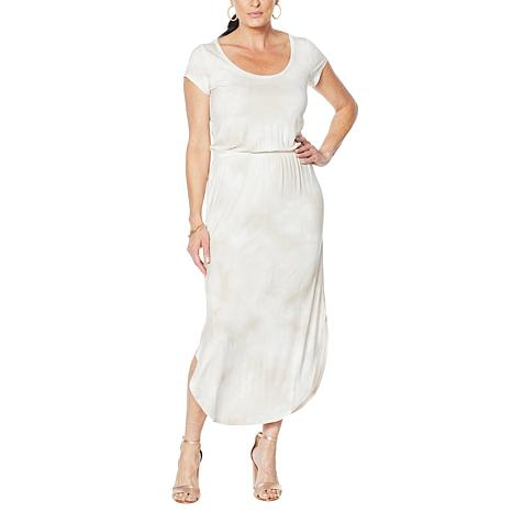 G by Giuliana Printed Tee-Shirt Dress