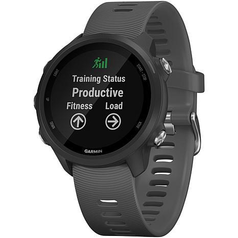 Garmin Forerunner 245 Music Running Watch in Slate Gray