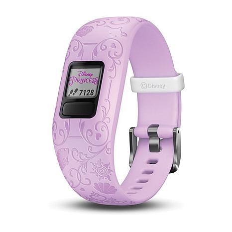 Garmin Vivofit Jr. 2 Disney Princess Fitness Tracker in Purple