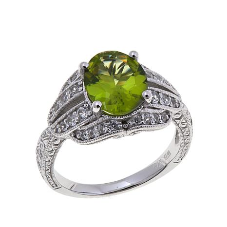 Generations® 1912 2.8ctw Kashmir and Zircon Ring