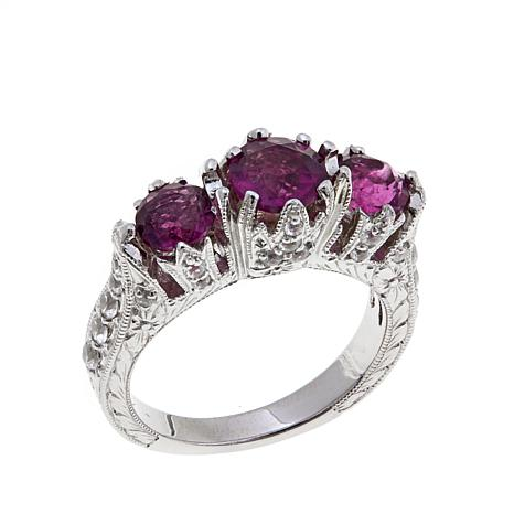 Generations® 1912 Raspberry Fluorite Ring
