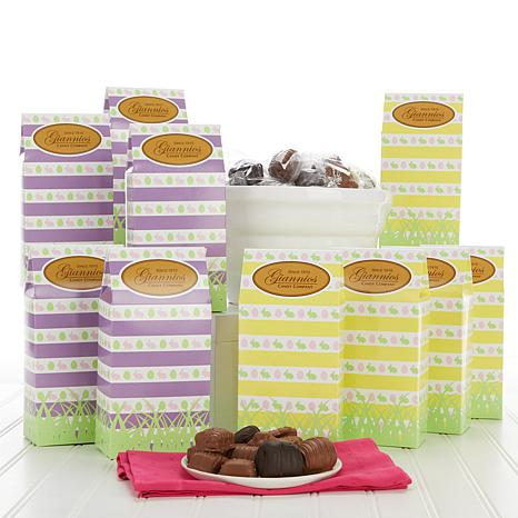 Giannios Candy 5 lbs. Assorted Chocolates with 10 Easter Boxes