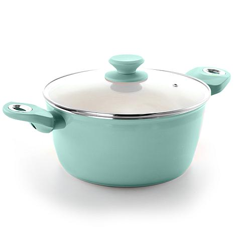 Gibson Coffee House 4.5 Qt. Dutch Oven in Sky Blue