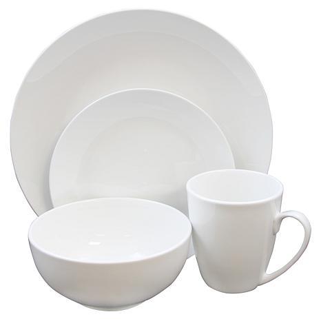 Gibson Home Ogalla 16-piece Dinnerware Set in White