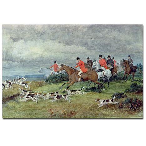 Giclee Print - Fox Hunting in Surrey