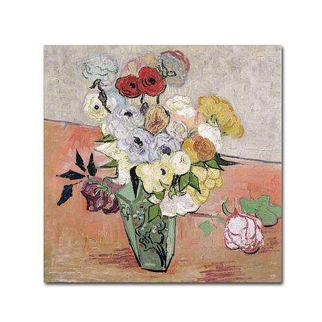 """Giclee Print - Roses and Anemones, 1890 24"""" x 24"""""""