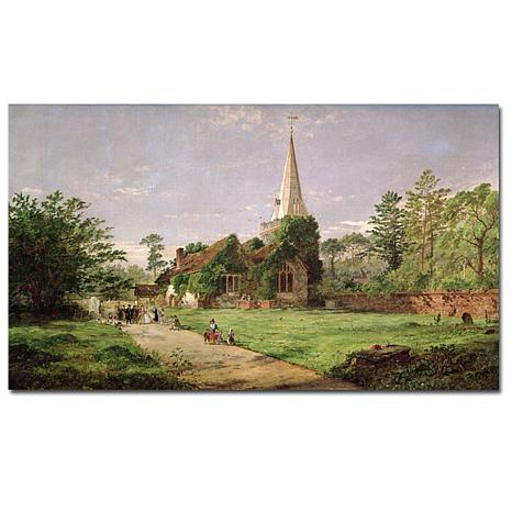 Giclee Print - Stoke Poges Church