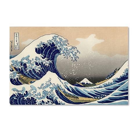 "Giclee Print - The Great Wave off Kanagawa 24"" x 16"""