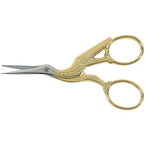 "Gingher 3 1/2"" Stork Embroidery Scissors"