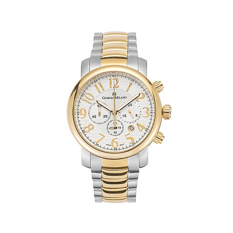 Giorgio Milano Women Stainless Steel Chronograph Watch