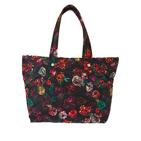 Girlfriend Gear Diamond Quilt Tote Travel Bag