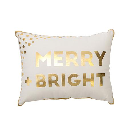 Glam Merry & Bright Pillow