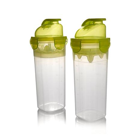Go Fresh by Kinetic 20 oz. Drink Shaker 2-pack