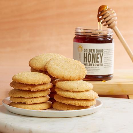 Golden Door Lemon Cookies and Wildflower Honey